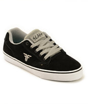 Fallen Slash Black & Cement Grey Skate Shoes