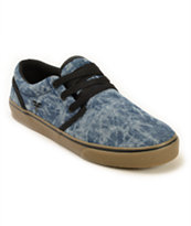 Fallen The Easy Acid Wash Skate Shoes