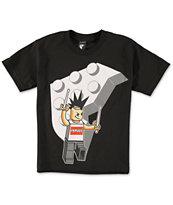Famous Stars & Straps Boys Block Man T-Shirt