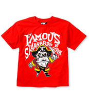 Famous Stars & Straps Boys Pirate Red Tee Shirt