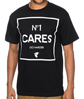 Famous Stars & Straps No 1 Cares Go Harder Tee Shirt