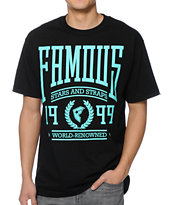 Famous Stars & Straps Renowned Black Tee Shirt