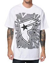 Famous Stars & Straps Unrest White Tee Shirt
