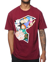 Famous Stars & Straps x Family Guy Griffin Brawl T-Shirt