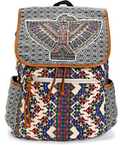 Fantasia Tribal Bird Rucksack Backpack