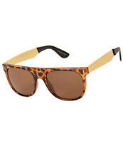 Flat Top Tortoise Sunglasses