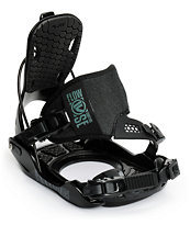 Flow Quattro SE Black Snowboard Bindings