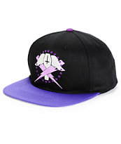 Flying Coffin Bolts Snapback Hat