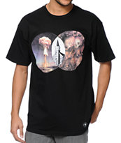 Flying Coffin Intersect Black Tee Shirt