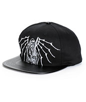 Flying Coffin Times Up Snapback Hat