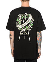 Flying Coffin Wreath T-Shirt