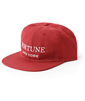 Fortune Uncon Crimson Strapback Hat