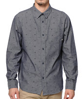 Fourstar Calico Long Sleeve Button Up Shirt