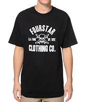 Fourstar Coach Standard Black Tee Shirt