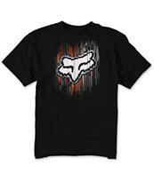 Fox Boys Counterpoint Black Tee Shirt
