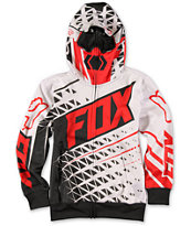 Fox Boys Given Face Mask Zip Up Hoodie