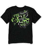 Fox Boys Jugger Black T-Shirt
