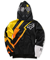 Fox Boys Looney Black Full Zip Face Mask Hoodie at Zumiez : PDP