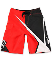 Fox Boys Spike Sym Red Board Shorts