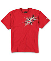 Fox Boys Unknown Red Tee Shirt