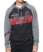 Fox Breakout Charcoal & Grey Pullover Hoodie