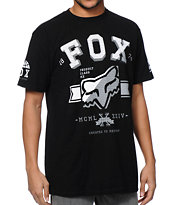 Fox Ketter Black Tee Shirt
