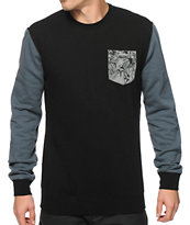 Fox Stopper Crew Neck Pocket Sweatshirt