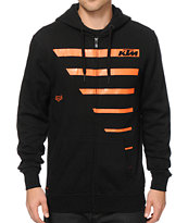 Fox x KTM Race Lines Zip Up Hoodie