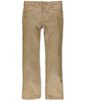 Free World Boys Messenger Khaki Denim Skinny Jeans