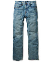Free World Boys Messenger Light Blue Wash Skinny Jeans