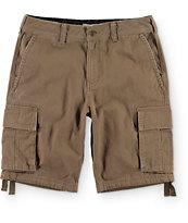 Free World Calamity Khaki Cargo Shorts at Zumiez : PDP