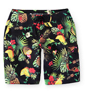 "Free World Cool Colada Pineapple 21"" Board Shorts"