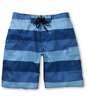 Free World Cowabunga Blue Stripe Hybrid Shorts