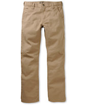 Free World Drifter Khaki Slim Fit Chino Pants