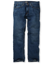 Free World Garage Medium Blue Relaxed Fit Jeans