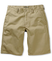 Free World Hooligan Khaki Chino Shorts