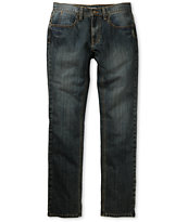 Free World Messenger Dirty Resin Skinny Jeans