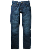Free World Messenger Medium Blue Denim Skinny Jeans