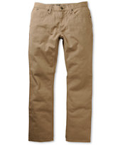 Free World Night Train Khaki Regular Fit Pants