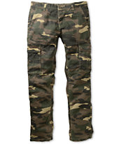 Free World Night Train Olive Camo Regular Cargo Pants