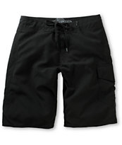 Free World Pipeline Black 21 Board Shorts