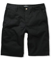 Free World Sol Black Chino Shorts