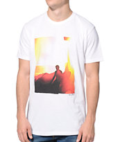 Freedom Artists Faded White Tee Shirt