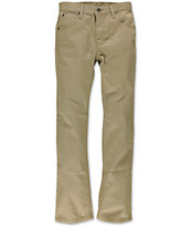 Freee World Boys Messenger Khaki Twill Pants