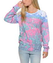 Freeze Nature Sublimated Crew Neck Sweatshirt