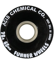 Funner Classic Cut Black Acid 65mm Longboard Wheels