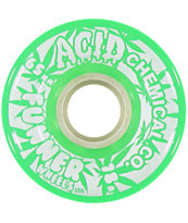 Funner Geen Acid 125 Gram 65mm Longboard Wheels