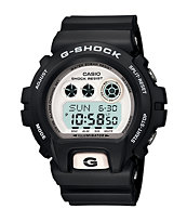 G-Shock 6900 XL Black & White Watch