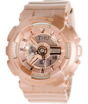 G-Shock BA110-4A Rose Gold Baby-G Girls Digital Watch
