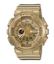G-Shock BA110-9A All Gold Baby-G Girls Digital Watch